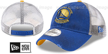 Warriors 'RUSTIC TRUCKER SNAPBACK' Hat by New Era