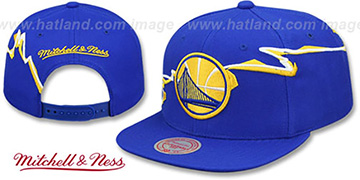 Warriors 'SWIFTER SNAPBACK' Royal Hat by Mitchell and Ness