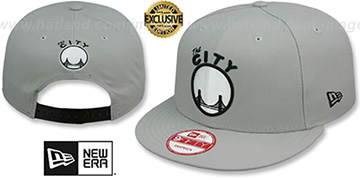 Warriors TEAM-BASIC SNAPBACK Grey-Black Hat by New Era