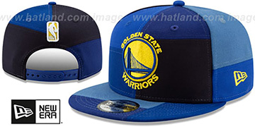 Warriors TEAM PATCHWORK SNAPBACK Hat by New Era