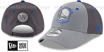 Warriors THE-LEAGUE GREY-POP STRAPBACK Hat by New Era