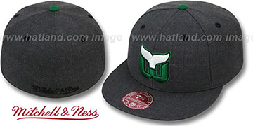 Whalers 'GREY HEDGEHOG' Fitted Hat by Mitchell & Ness
