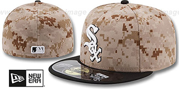 White Sox '2014 STARS N STRIPES' Fitted Hat by New Era