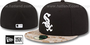White Sox 2015 STARS N STRIPES Fitted Hat by New Era