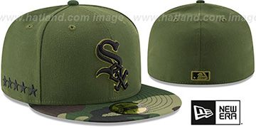 White Sox 2017 MEMORIAL DAY 'STARS N STRIPES' Hat by New Era