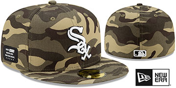 White Sox 2021 ARMED FORCES STARS N STRIPES Hat by New Era