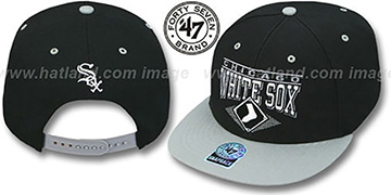 White Sox 2T HOLDEN SNAPBACK Adjustable Hat by Twins 47 Brand
