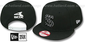 White Sox 'BITD SNAPBACK' Black-White Hat by New Era