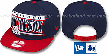 White Sox COOP '2T STILL BREAKIN SNAPBACK' Navy-Red Hat by New Era