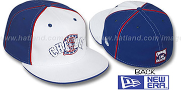 White Sox COOP DECEPTOR-2 PINWHEEL White-Royal Fitted Hat