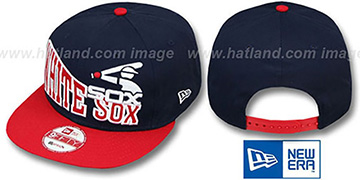 White Sox COOP STOKED SNAPBACK Navy-Red Hat by New Era