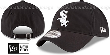 White Sox 'CORE-CLASSIC STRAPBACK' Black Hat by New Era