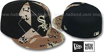 White Sox 'DESERT STORM CAMO BRADY' Fitted Hat by New Era