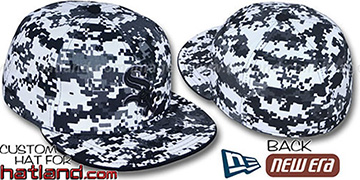 White Sox 'DIGITAL URBAN CAMO' Fitted Hat by New Era