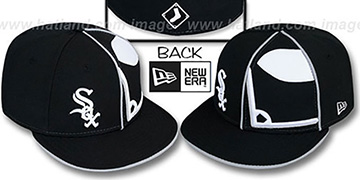White Sox 'HBH ZOOM' Black Fitted Hat by New Era