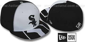 White Sox 'HFVL BIGBOY' White-Black Fitted Hat by New Era