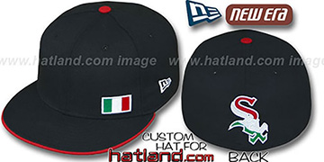White Sox 'ITALIAN FLAWLESS' Black Fitted Hat by New Era