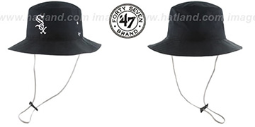 White Sox 'KIRBY BUCKET' Black Hat by Twins 47 Brand