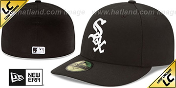 White Sox 'LOW-CROWN' GAME Fitted Hat by New Era