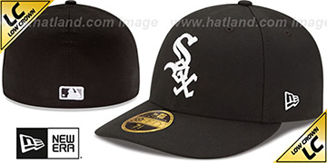 White Sox 2017 LOW-CROWN ONFIELD GAME Fitted Hat by New Era