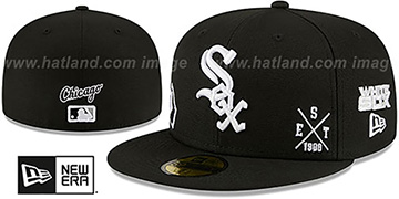 White Sox 'MULTI-AROUND' Black Fitted Hat by New Era