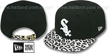White Sox 'OSTRICH-LEOPARD STRAPBACK' Hat by New Era