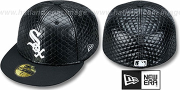 White Sox 'QUILTE' Black Fitted Hat by New Era
