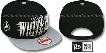 White Sox 'SAILTIP SNAPBACK' Black-Grey Hat by New Era