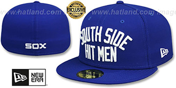 White Sox SOUTH SIDE HITMEN Royal Fitted Hat by New Era