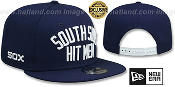 White Sox 'SOUTH SIDE HITMEN SNAPBACK' Navy Hat by New Era