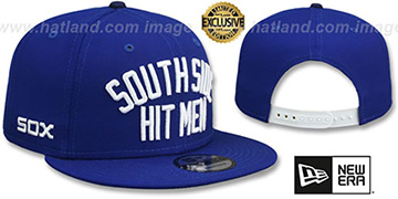 White Sox 'SOUTH SIDE HITMEN' SNAPBACK Royal Hat by New Era