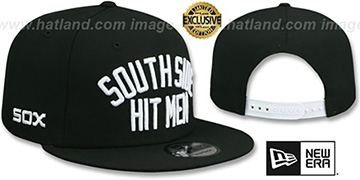 White Sox SOUTH SIDE HITMEN SNAPBACK Black Hat by New Era