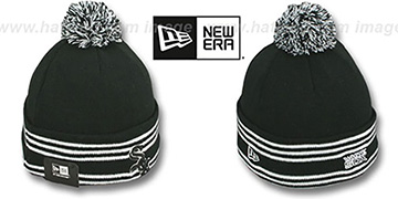 White Sox SPORT-KNIT Black-Black Beanie Hat by New Era