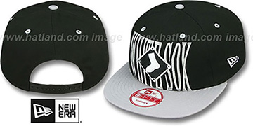 White Sox STEP-ABOVE SNAPBACK Black-Grey Hat by New Era