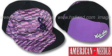 White Sox 'SWEATER SWIRL' Purple Hat by American Needle