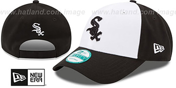 White Sox 'THE-LEAGUE STRAPBACK' White-Black Hat by New Era