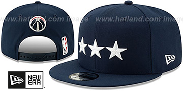 Wizards 19-20 CITY-SERIES ALTERNATE SNAPBACK Navy Hat by New Era