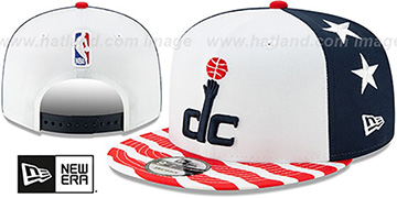 Wizards 19-20 CITY-SERIES SNAPBACK White-Navy-Red Hat by New Era
