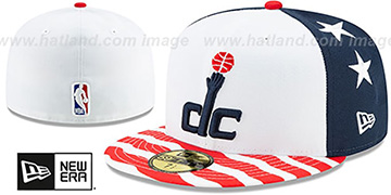 Wizards 19-20 'CITY-SERIES' White-Navy-Red Fitted Hat by New Era