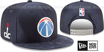 Wizards '2017 NBA ONCOURT DRAFT SNAPBACK' Navy Hat by New Era