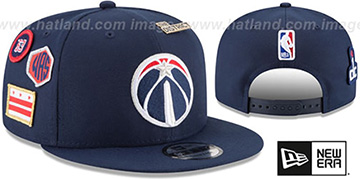 Wizards '2018 NBA DRAFT SNAPBACK' Navy Hat by New Era