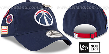 Wizards 2018 NBA DRAFT STRAPBACK Navy Hat by New Era