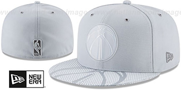 Wizards 2018 NBA ONCOURT ALL-STAR Grey Fitted Hat by New Era