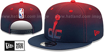 Wizards BACK HALF FADE SNAPBACK Hat by New Era