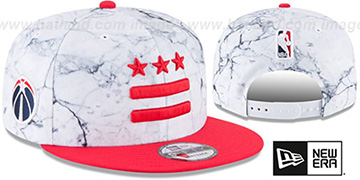 Wizards 'CITY-SERIES SNAPBACK' White-Red Hat by New Era