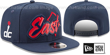 Wizards 'NBA ALL-STAR CONFERENCE BEVEL SNAPBACK' Hat by New Era