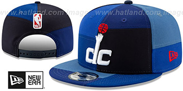 Wizards TEAM PATCHWORK SNAPBACK Hat by New Era