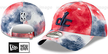 Wizards 'TIE-DYE STRAPBACK' Hat by New Era