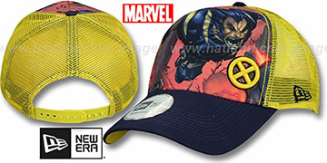 Wolverine 'SPLASH FRONT TRUCKER' Adjustable Hat by New Era
