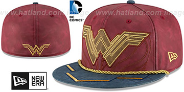 Wonder Woman 'CHARACTER PREMIUM' Fitted Hat by New Era